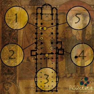 S. Ambrogio: la mappa...